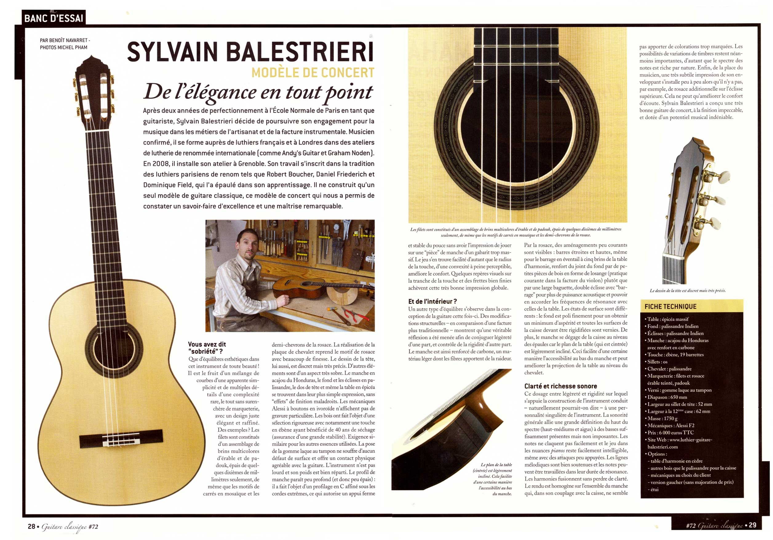 article guitare classique n72 page 2